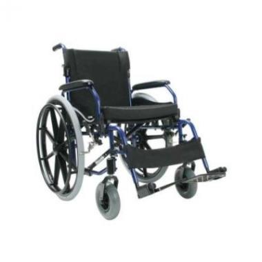 Invalidní vozík SOMA SM-802 WB + brzdy, hliníkový šíře 43cm
