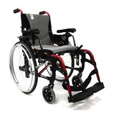 Invalidní vozík S-Ergo 305 hliníkový šíře 46cm