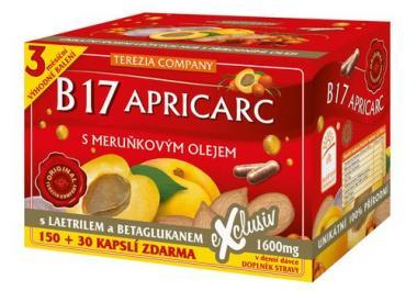 B17 APRICARC s meruňkovým olejem 150 kapslí + 30
