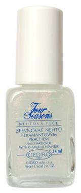 Four Seasons Zpevňovač nehtů s diamant.prachem14ml