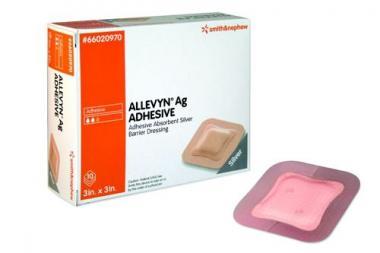 Allevyn Ag Adhesive krytí pěnové 7.5cm x 7.5cm 10ks