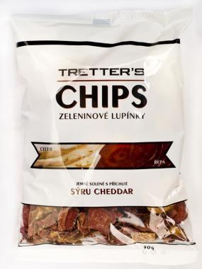 Tretter´s zeleninové Chipsy cheddar 90g bezlepkové