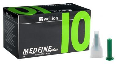 Jehly WELLION MEDFINE PLUS 29Gx10mm 100ks inz.pera
