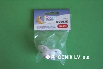 BABY NOVA Dudlík silikon.tvar.dekor č.2 28680