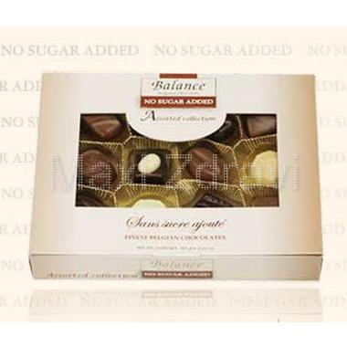 Balance Belgické pralinky bez cukru bonboniéra150g
