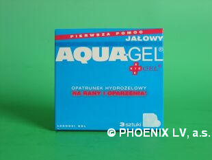 Aqua gel balíček 1.pomoci krabička á 3ks