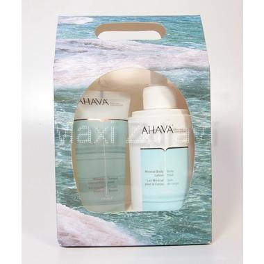 AHAVA Minerální tělové mléko 250ml + shower gel 100ml