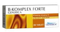 B-komplex forte 20 tablet Generica