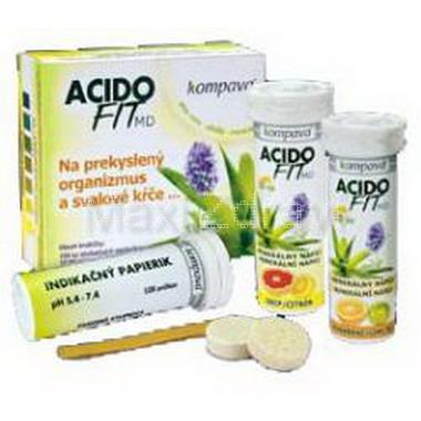 AcidoFit MD-MIX tbl.eff.2x10 + indik.papírky 100ks