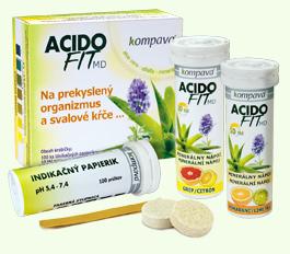 AcidoFit MD grep/citrón tbl.eff.15 + 1 zdarma