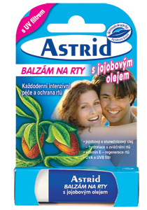 Astrid balzám na rty s jojobovým olejem 4.8g