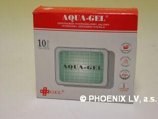 Aqua gel hydrogelový obvaz sterilní 100x120mm/10ks
