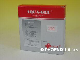 Aqua gel hydrogelový obvaz sterilní 120x120mm/10ks