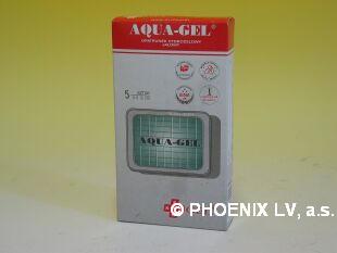 Aqua gel hydrogelový obvaz sterilní 60x120mm/5ks