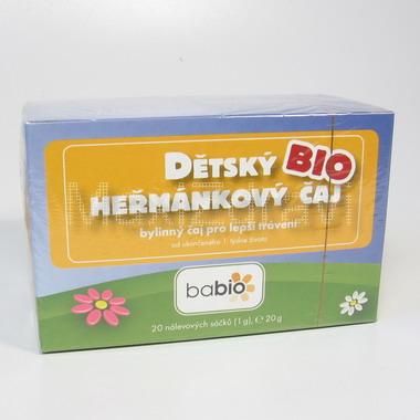 BABIO dětský biočaj heřmánkový n.s.20x1.5g