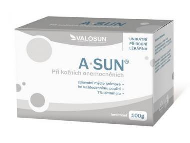 A-SUN mýdlo 7% 100g