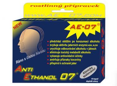 Anti Ethanol 07 AE-07 5x2kapsle