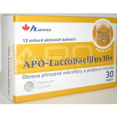 APO-Lactobacillus 10 + 30 kapslí