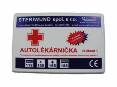 Autolékárnička plast vyhl.č.341/2014 Steriwund