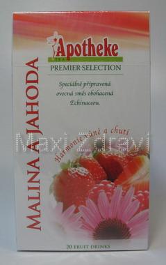 Apotheke Malina + jahoda s echinaceou čaj 20x2g n.s.