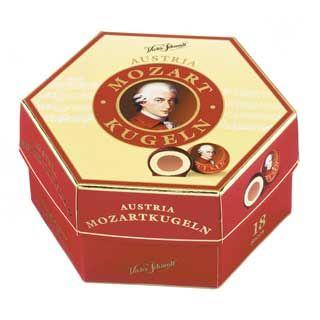 Austria Mozartkugeln 297g