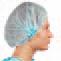 Čepice baret netkaný textil s gumičkou modrá 100ks