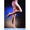 Lonaris Micro-stehenní punčochy krajk.lem KTII 2K-ot tělová