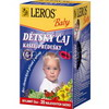 LEROS BABY Dětský čaj Kašel + průdušky n.s.20x1.5g